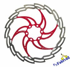XLC Bremsscheibe f. Shimano und Magura BR-X02 �˜ 203 mm silber/rot Disc