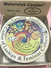 Center For Lesbian Feminist Culture Lansing Michigan Waterwick Coasters 2005