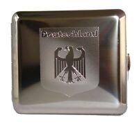 Reichsadler Zigaretten Etui vom Hofe 18er, Deutschland, Case Zigaretten Box edel