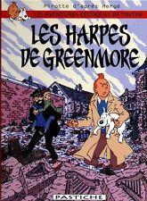HOMMAGE À HERGÉ PAR PIROTTE TINTIN LES HARPES DE GREENMORE (AVENTURES CELTIQUES)