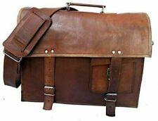 Handmade Briefcase Bag Satchel Genuine trending Leather Vintage Laptop Messenger