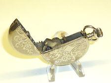 "CHRONOS ""G"" (Verde foresta) vintage pocket watch Lighter-ACCENDINO - 1915-Austria"