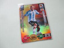 Panini Adrenalyn XL World Cup 2010 #20 Juan Sebastian Veron Champion Card