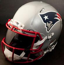 ***CUSTOM*** NEW ENGLAND PATRIOTS NFL Riddell Revolution SPEED Football Helmet