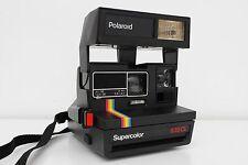Polaroid Supercolor 635 CL Instant Film Camera with strap