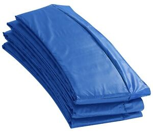 Upper Bounce BLUE Super Spring Cover Safety Pad 8 FT Round Trampoline Frame