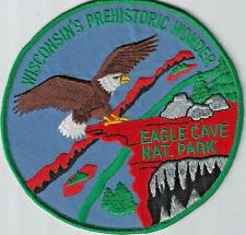 Eagle Cave National Park Souvenir Wisconsin Cave Patch