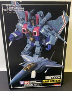Transformer MP-3 STARSCREAM Masterpiece TAKARA Japan Near Mint