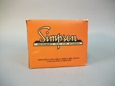 Vintage Simpson Indicator Tach - 467687- New Old Stock