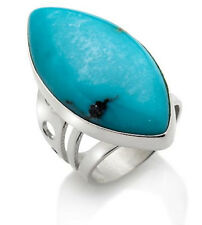 Jay King Marquise Cut Campitos Turquoise Sterling Silver