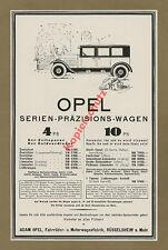 or. Reklame Adam Opel Rüsselsheim Main Fabrik Auto Kfz Luxus Golf Limousine 1926