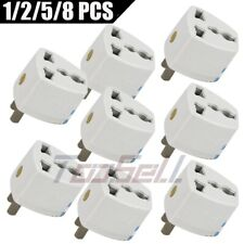 Universal AU/EU/UK to US AC Wall Power Plug Socket Travel Converter Adapter Lots