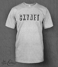 The Terminator T-shirt. SKYNET novelty. MEN'S NETFLIX Funny, Now TV Genisys