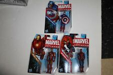 Marvel Universe  Spiderman ; Captain America, Iron-Man  mosc 3 3/4 in new