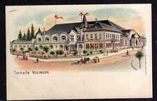 96916 AK Villingen Restaurant Tonhalle Litho 1916 Feldpost
