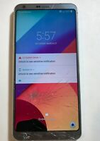 LG G6 - 32GB - Ice Platinum (T-Mobile) Smartphone For Parts Only