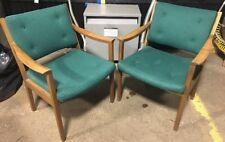 Set of 2 Vintage Gunlocke Arm Chairs