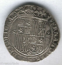 Monarchs Catholics 4 Reales Seville 1474 to the 1504 @Pretty@