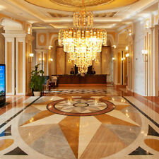 Kristall Gold Design Decken Kronleuchter Wohnzimmer Lüster Deckenlampe E14