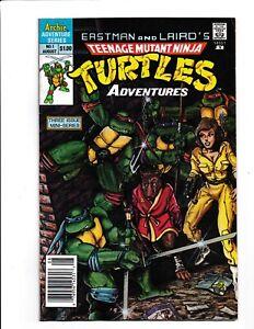 Teenage Mutant Ninja Turtles Adventures #1 comic -Mid Grade