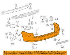 TOYOTA OEM 11-16 Sienna Rear Bumper-Cover 5215908903