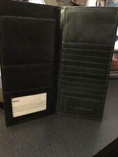 Johnston & Murphy Leather Travel Wallet Passport Card Holder Document Organizer.