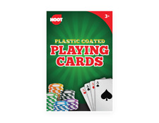 2 X Professional Plastic Coated Playing Cards & 4 Dices Set
