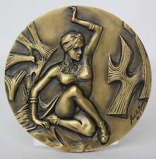 ART DANCING/ Dancer MATA HARI/ Russian Ballet Dancer RUDOLF NUREYEV Bronze Medal