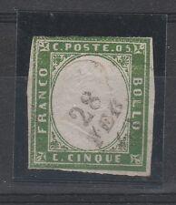 FRANCOBOLLI 1862 SARDEGNA 5 C. B/9693
