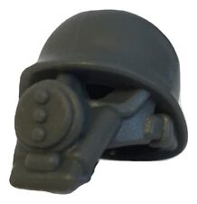 US Gas Mask with Helmet WWII for Lego minifigure accessories