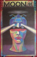 Big ORIGINAL Soviet MOVIE Poster 1991 USA Fantastic MOON-44 Space Russian USSR
