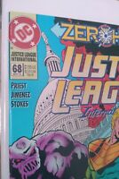 *ERROR* Justice League International ZERO HOUR #68 VF+ See Pics🔥Incomplete Pgs!