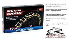 TM 80 / 85 MX (Big Wheel) 01-05 Renthal R3 Super HD Gold Chain 520 X 116 Links