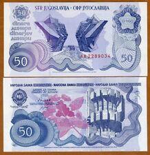 Yugoslavia, 50 Dinara, 1990, Pick 101, Unc