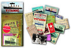 Titanic nostalgic memorabilia pack with replica ephemera items   (mp)