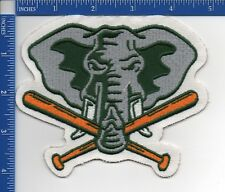"Authentic MLB- Oakland Athletics  Elephant Holding Bats patch 1993-94 NOS 5""X4"""
