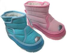 Soft Touch chaussures bébé botte fourrée imperméable rose ou bleu 15 à 24 mois