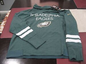 WOMENS Nike Philadelphia Eagles Championship Drive Obsessed Pullover LARGE L NWT