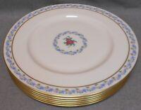 Set (6) Lenox FAIRMOUNT PATTERN Dinner Plates MADE IN USA