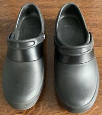Crocs Lock Womens Mercy Closed Toe SlingBack Clogs Black Size UK 8/9 EU 42 43