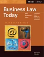 BUSINESS LAW TODAY 7TH EDITION BY MILLER AND JENTZ