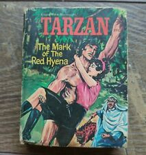 Vintage Big Little Book Tarzan The Mark of The Red Hyena Good Condition