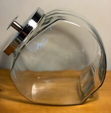 Anchor Hocking 1 Gallon Penny Candy Glass Jar w/ Chrome Lid. No Box~Lightly Used