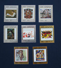 CANADA: 1988-1995 Masterpieces of Canadian Art MNH singles set