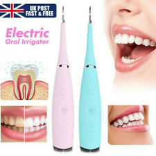 Ultrasonic Oral Irrigator Electric Tooth Cleaner Teeth Stain Dental Cleaning UK