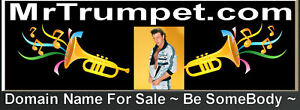 Mr Trumpet .com Brand Type Domain Name For Sale Music Horns Be Somebody Famous