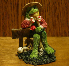 Ganz Cottage Resin Figurine by Lorraine Chien, #CC2056 CAN ANYONE SPARE A KISS