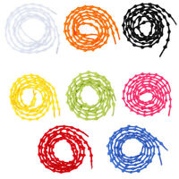 1Pair 75cm elastic shoelaces easy no tie shoe laces sport shoes accessories CRWF