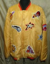 Made in Korea Men's NBA TEAMS 2003 ALL STARS PUFFY 100%POLYESTER JACKET SIZE 4XL