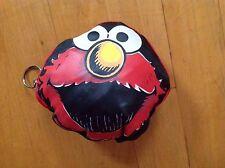 Elmo Key Chain Pouch Convertible to a 17 X 16 HandBag/ Tote/  by Sesame  Street